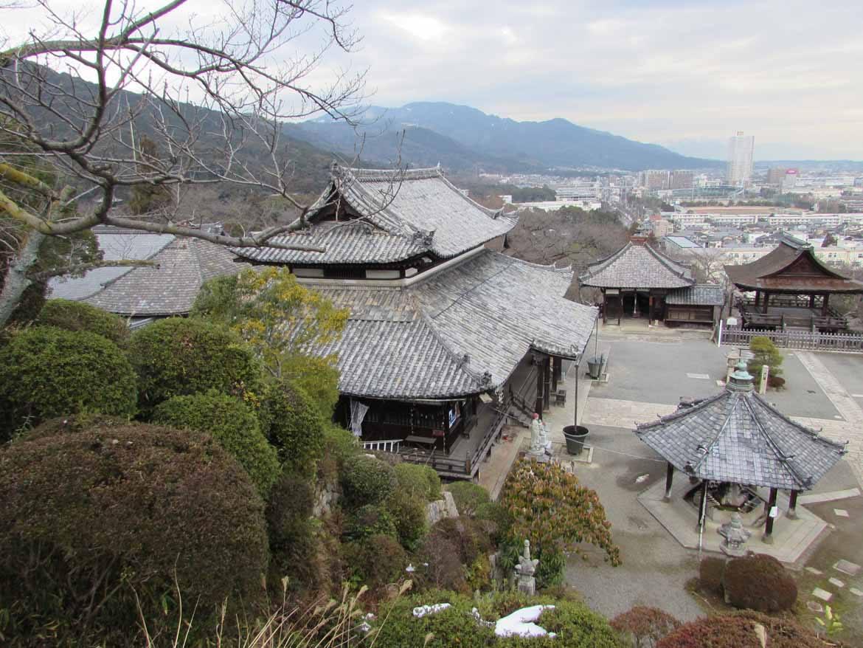 The Kannon Hall at Mii-dera