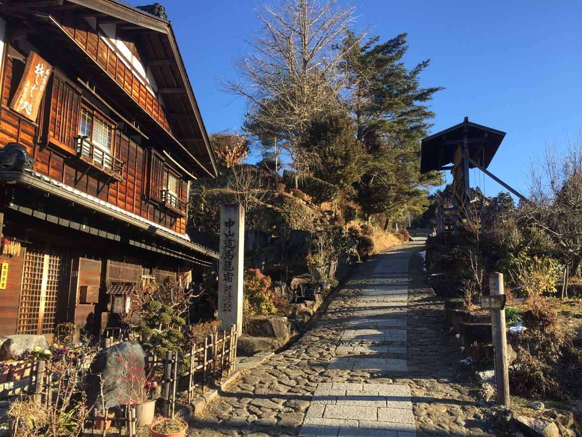 Magome – The forty-third post town along the Nakasendo