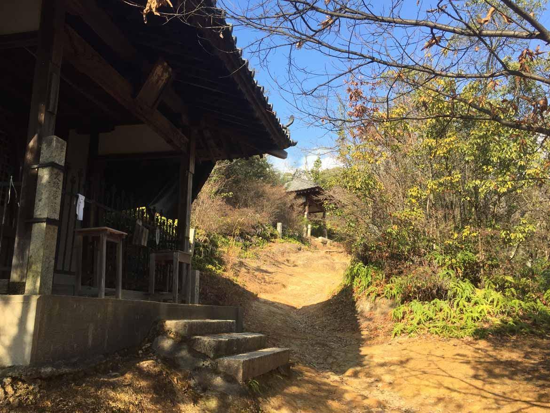 Temples along the Ninna-ji mini-pilgrimage