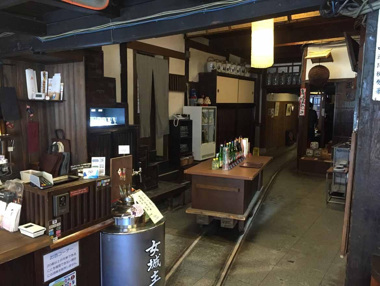 Sake Brewery in Iwamura