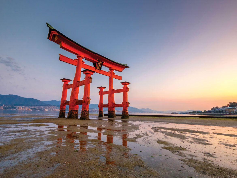 Miyajima's Itsukushima Shrine