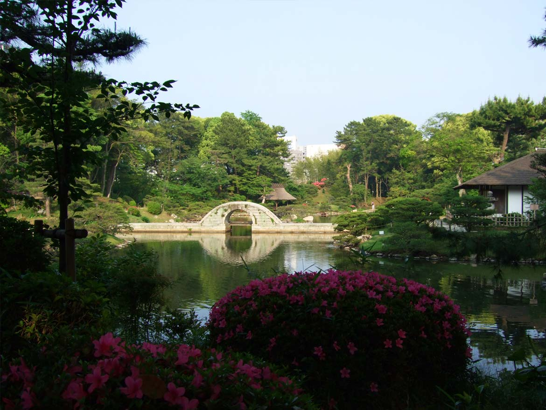 Shukkei'en gardens
