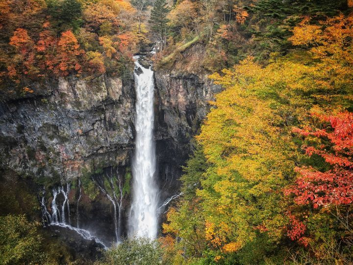 The Kegon Falls, Japan