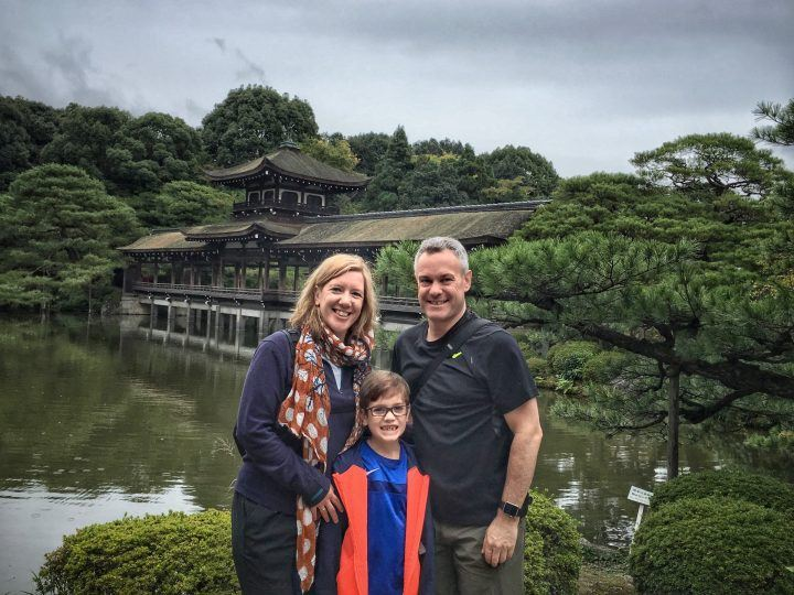 Family holiday in Tokyo and Kyoto - Adrian Furner and his family in Japan