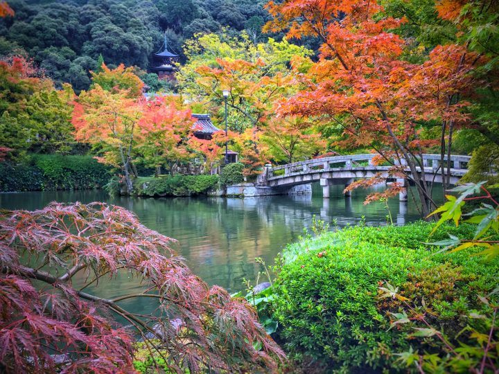 Eikan-do Temple in early Autumn, Japan