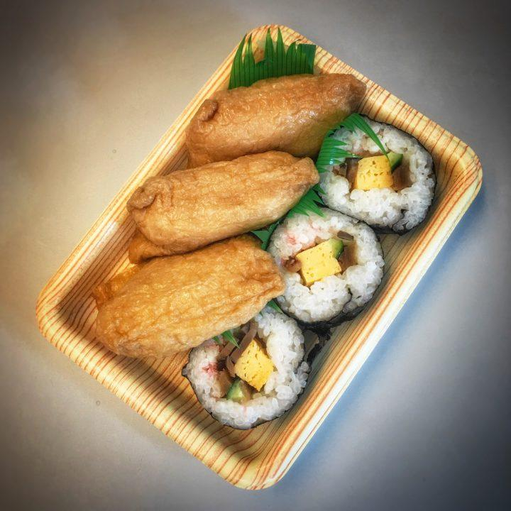 Japanese sushi with tofu