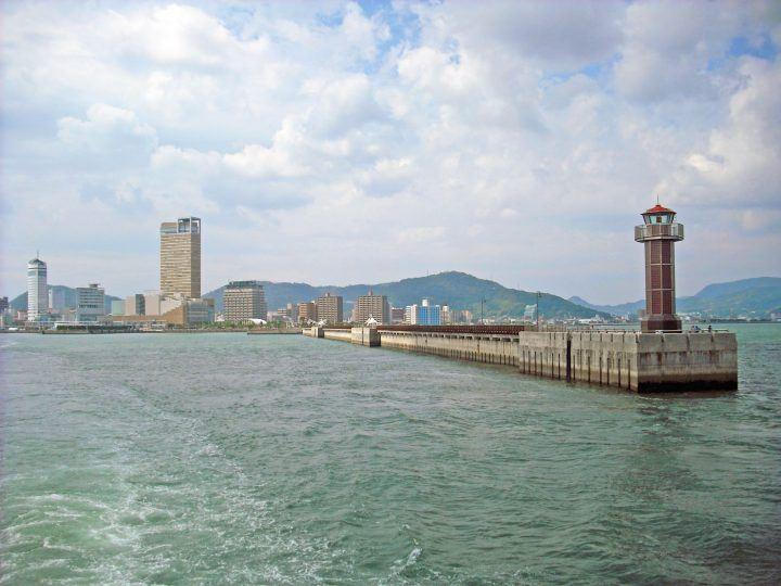 Sea at Takamatsu Port