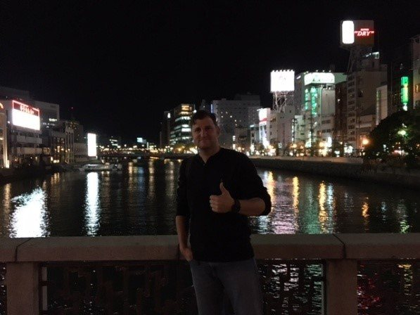Ben Walker, an InsideJapan Tours tour leader based in Fukuoka, Japan