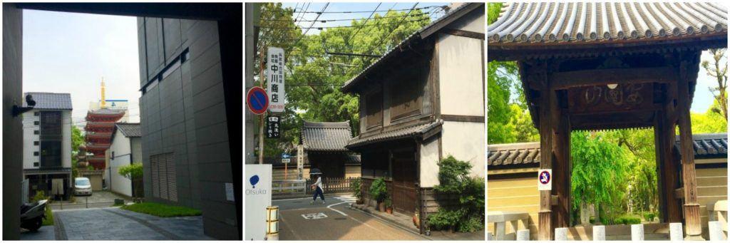 The entrance of Shokofuji Temple in Fukuoka, Japan