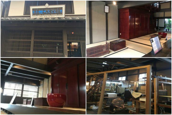 A collage of things to see at Hakata Machiya Folk Museum, Fukuoka, Japan