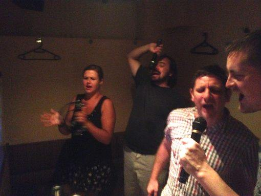 Take part in karaoke on a small group tour as a solo traveller