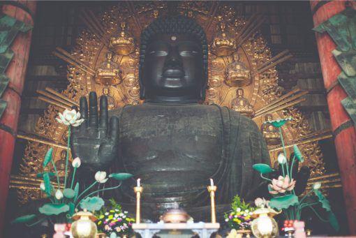 Largest bronze Buddha in the world, Nara, Japan