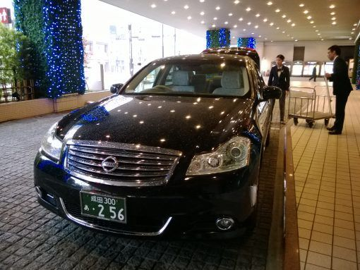 Posh car in Japan