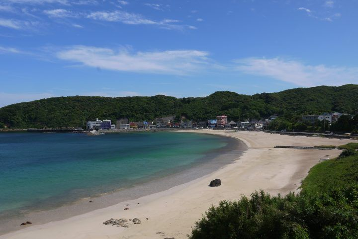 Beach along Izu Peninula