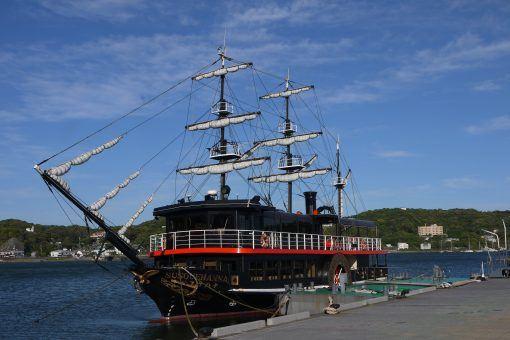Black ship in Shimoda, Izu Peninsula, Japan