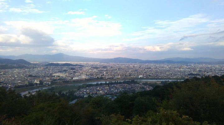 View over Kyoto, Japan