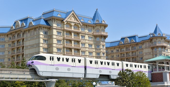 Tokyo Disneyland monorail