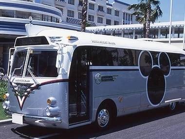 Tokyo Disneyland bus
