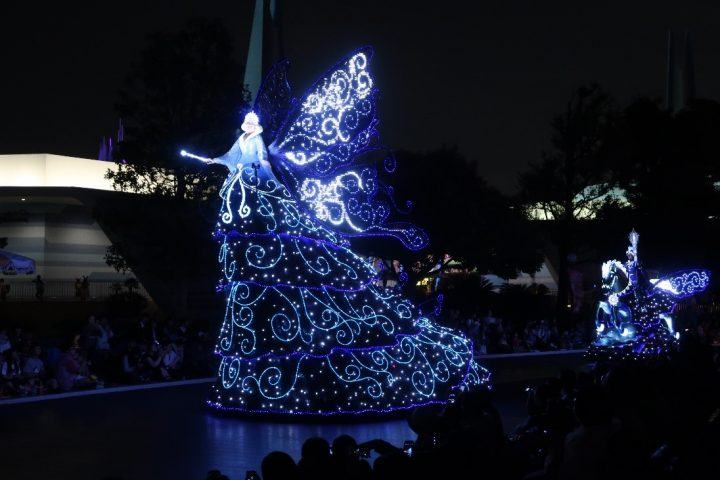 Tokyo Disneyland fireworks show