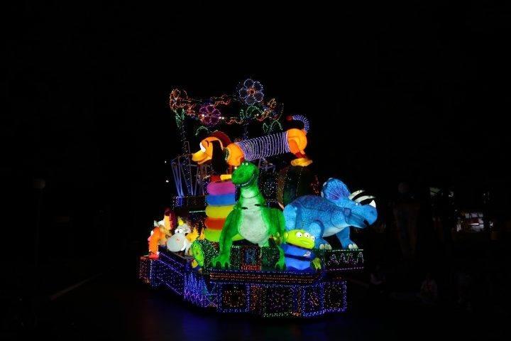 Tokyo Disneyland light parade
