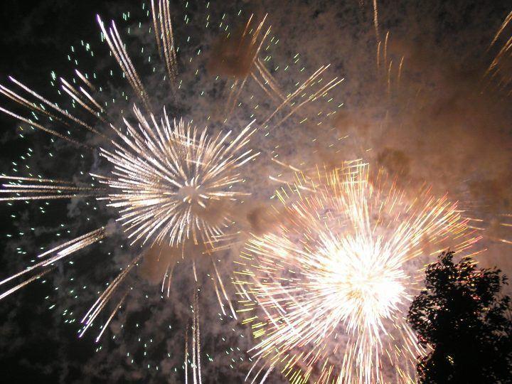 Fireworks - winter festivals in Japan