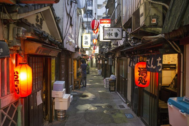 Finish your 24 hours in Tokyo with a drink in Shibuya