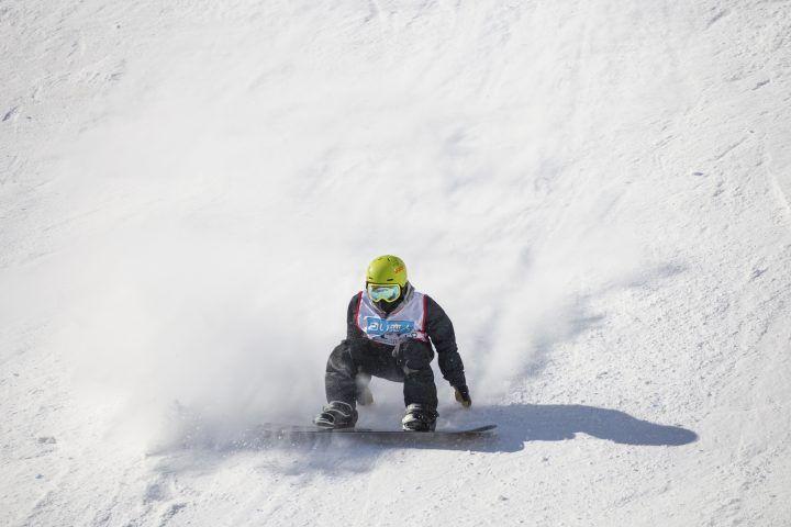 Snowboarding in Japan