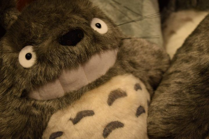 Totoro teddy at the Studio Ghibli Museum
