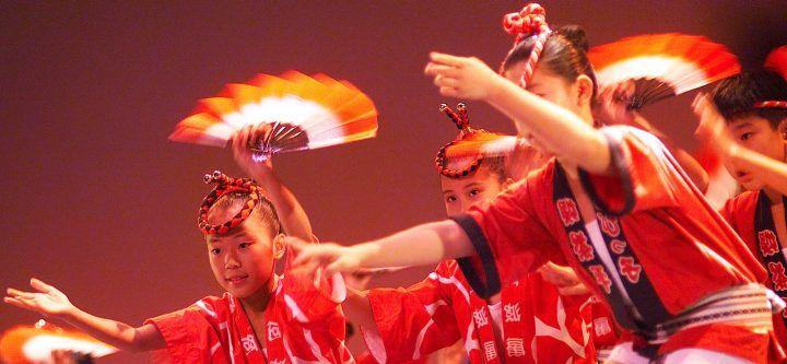 Tokushima dancers