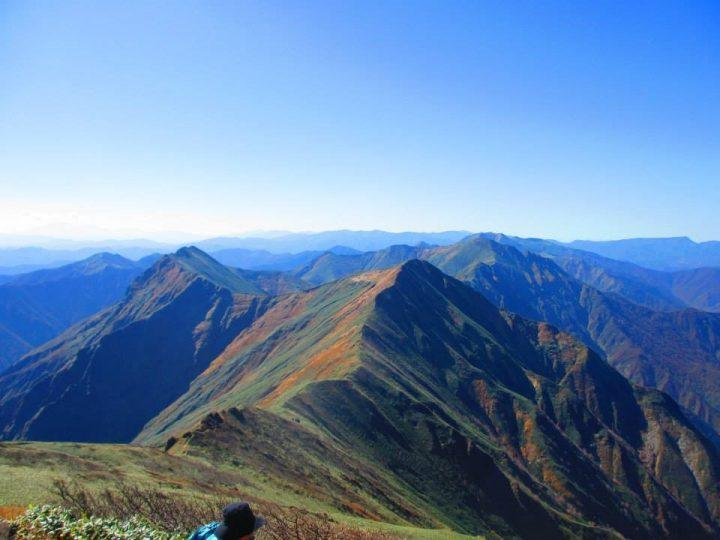 Views over Mount Tanigawa
