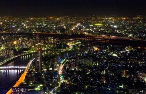View from the Tokyo Skytree in Japan - places to propose in Japan