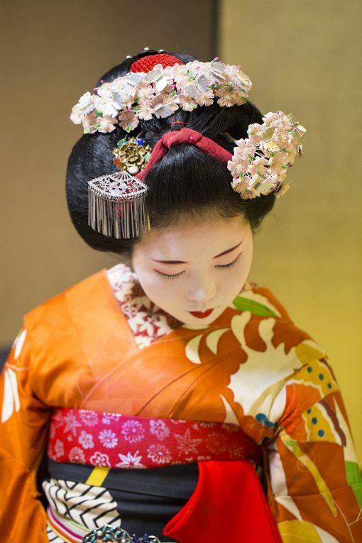 Mädchen Kyoto