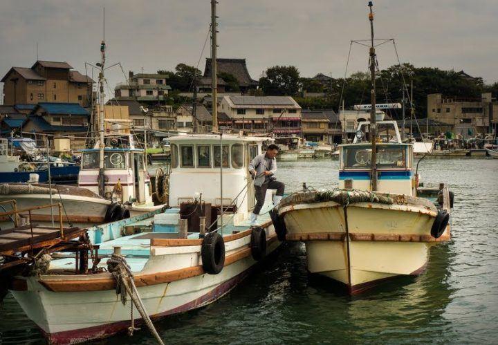 Tomonoura fishing boats - photography tour in Japan
