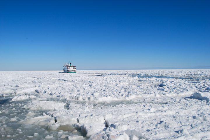 Icebreaker Cruise in Abashiri, Hokkaido