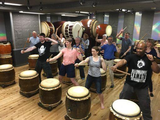 Taiko drumming in Japan