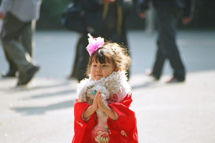 Little girl at Meiji Jingu