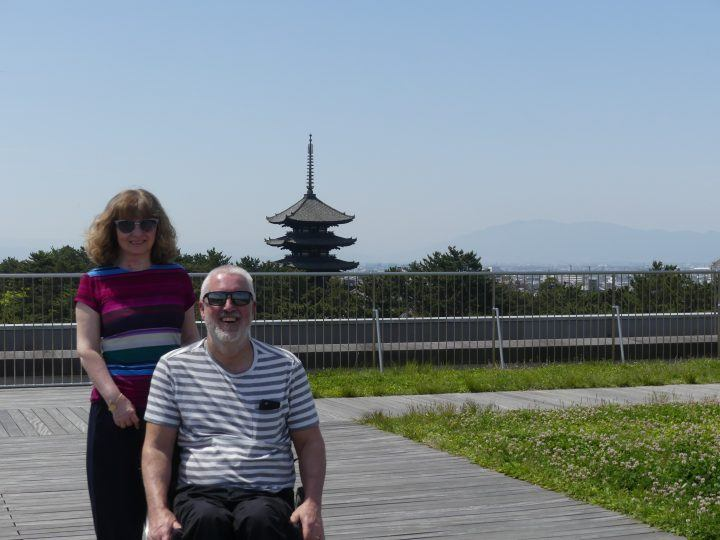 Japan accessible travel in a wheelchair