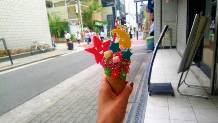 ice cream in Japan