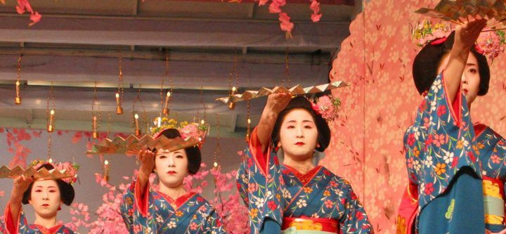 Gion Odori, geisha dances in Japan