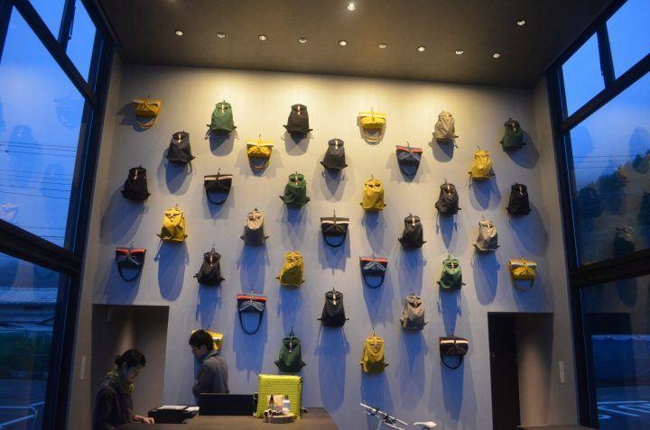 Hoshinoya Fuji rucksacks
