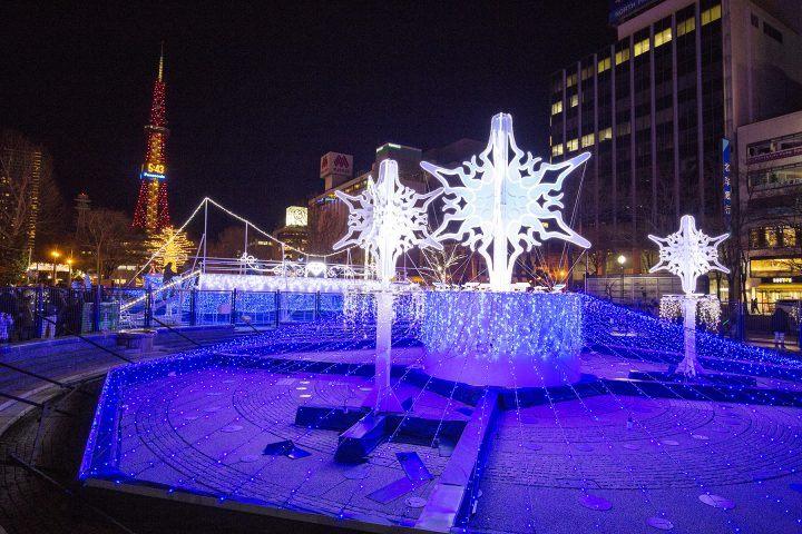 Odori Park illuminations, Sapporo