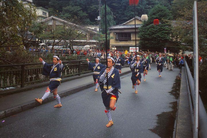 Daimyo Procession, travel to Japan in November for festivals