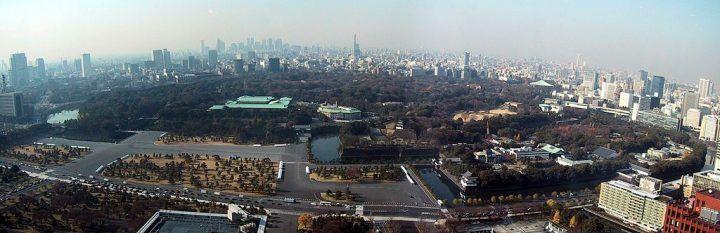 Imperial Palace, Tokyo, panorama