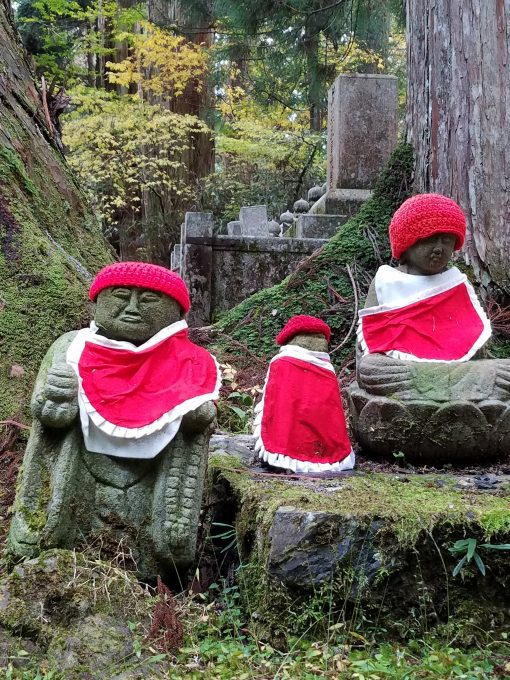 Koya-san Okunoin Jizo Statues