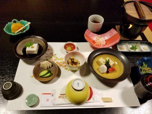 Shojin Ryori, Buddhist vegetarian temple food in Japan