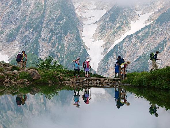 Summer trekking in the Hakuba Valley