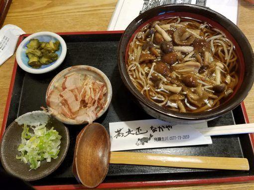 Takayama Soba - food in Japan