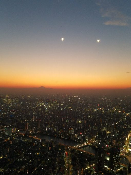 Tokyo View from Skytree Tower