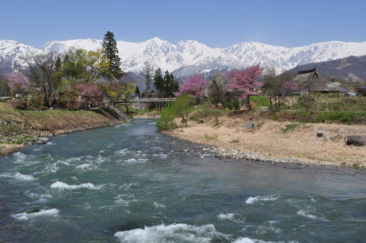Spring in the Hakuba Valley