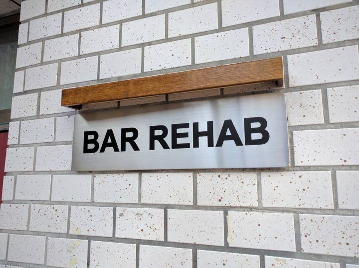 Bar Rehab, funny signs in Japan